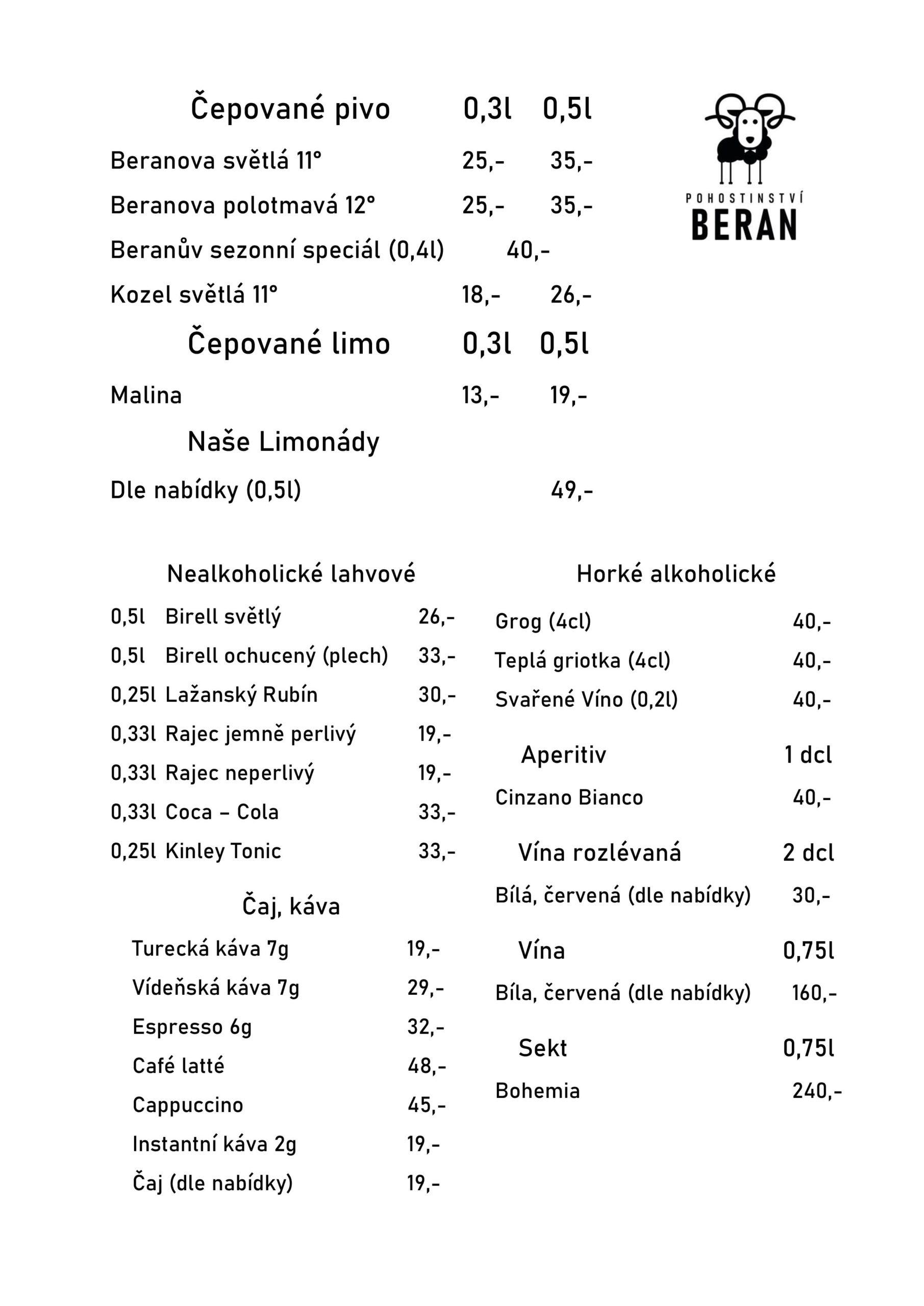 Pohostinství Beran